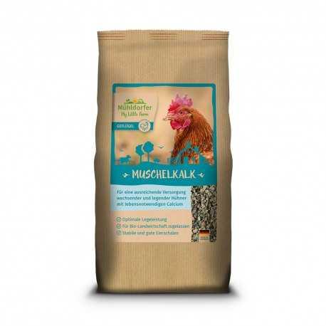 Muschelkalk - Calcium vital pour poules et poulets My-Little-Farm