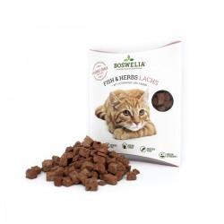 Snack au saumon et aux herbes pour chats Boswelia Fischsnack Fish und Herbs Lachs