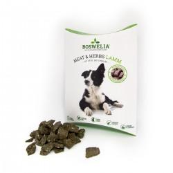 Snack à l'agneau et herbes pour chiens Boswelia - Fleischsnack Meat und Herbs Lamm