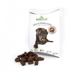 Snack au boeuf et herbes pour chiens Boswelia - Fleischsnack Meat und Herbs Rind