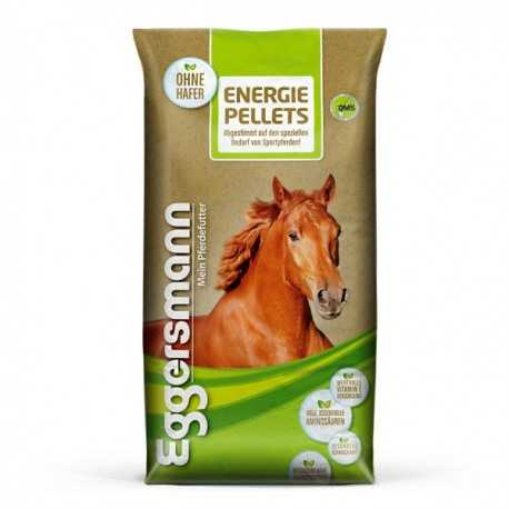 Energie Pellets Eggersmann pour chevaux preferant les granulés