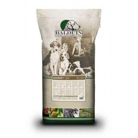 Balduin Premium Gourmet agneau et riz croquettes chien